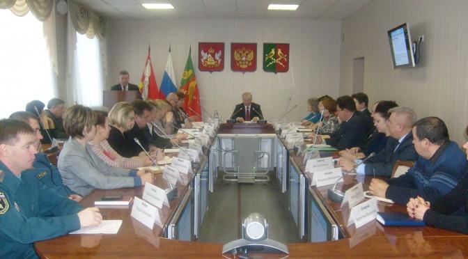 9 февраля, в понедельник, прошло очередное расширенное совещание под председательством главы администрации Таловского муниципального района В.В. Бурдина.