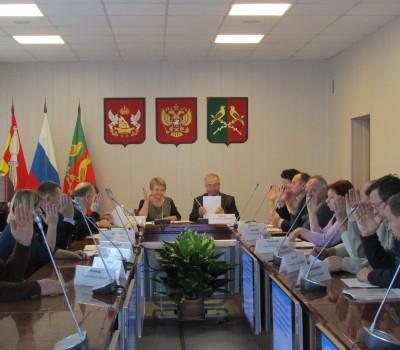 Состоялась очередная сессия Совета народных депутатов  Таловского муниципального района
