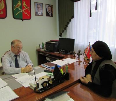 личный прием главы администрации района