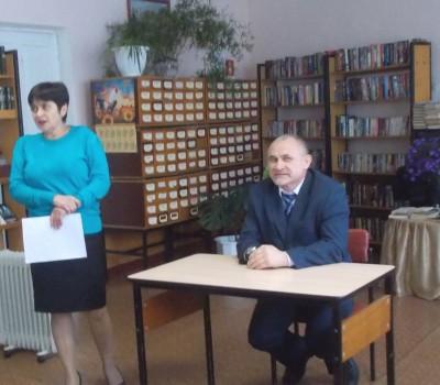 встреча с будущими избирателями – одиннадцатиклассниками Таловской школы