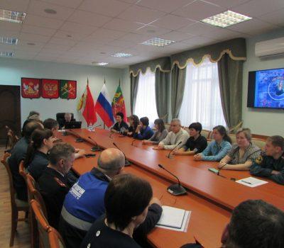 Подведение итогов деятельности системы-112 на территории Таловского муниципального района в 2017 году