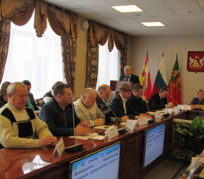 Состоялась открытая сессия Совета народных депутатов