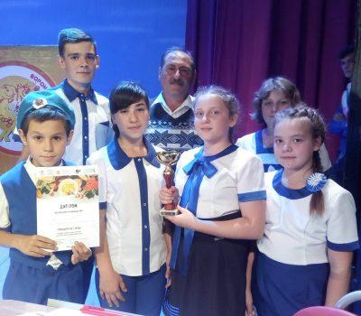 Кубок Осенней игры  приехал в Таловский район  и занял почетное место среди других кубков  в 1-Шанинском  СДК