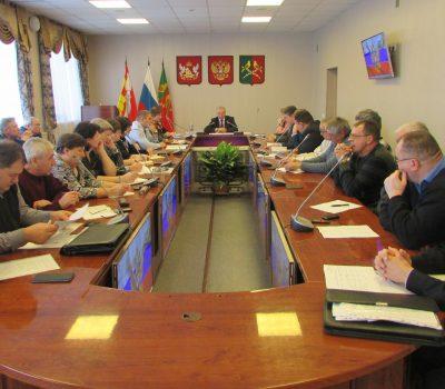 Заседания Комиссии по предупреждению ЧС