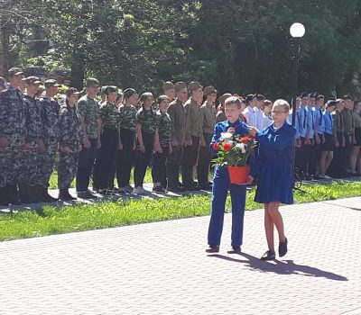 районная военно-спортивная игра «Орленок»