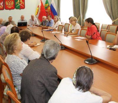 Заседание районного Совета ветеранов