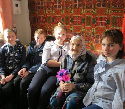В Таловском районе прошла  Всероссийская акция «Вам, любимые».