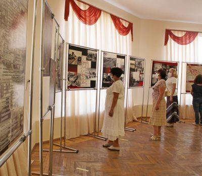 Выставка «Подвиг Воронежа» (к 75-летию Великой Победы)