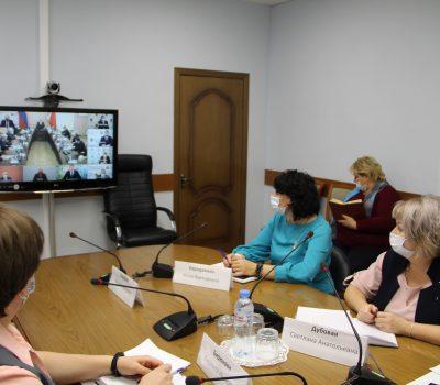 Заседание оперативного штаба