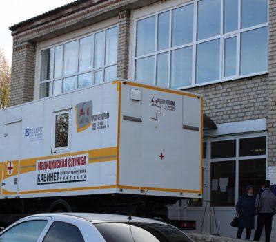 мобильный флюорограф заработал в Таловской районной больнице