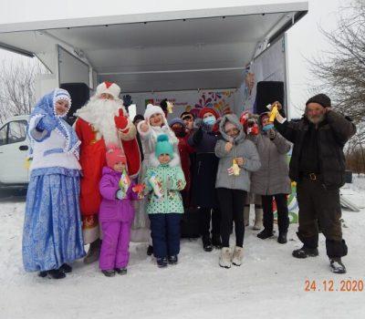 Автоклуб побывал в селе Успенка