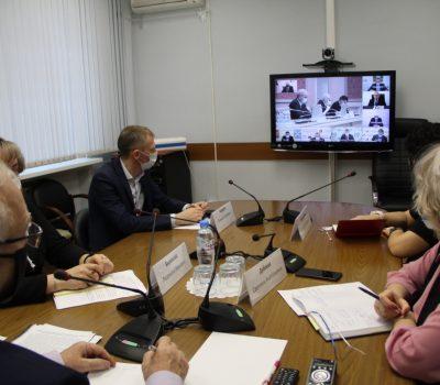 Очередное заседание оперативного штаба
