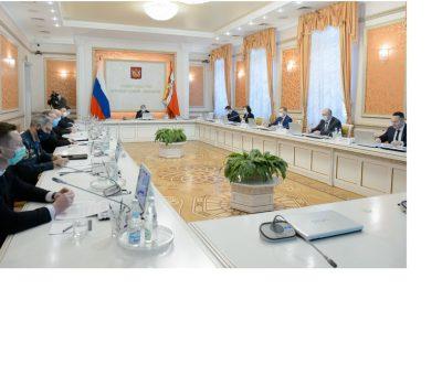 оперативное совещание в правительстве области