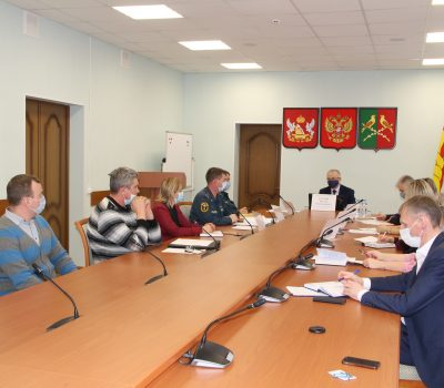Заседание комиссии по предупреждению и ликвидации ЧС